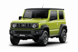 2019 Suzuki Jimny officially revealed, true off-road capability, cute face
