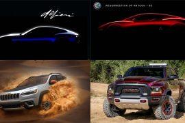 Alfa Romeo, Jeep, Maserati and Ram future models to 2022 laid bare at FCA event