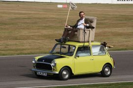 Mr. Bean's Mini goes under the hammer for US$80,000