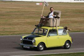 Mr. Bean's Mini goes under the hammer for US$80,000