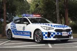 2018 Kia Stinger to be used by Queensland Police Force