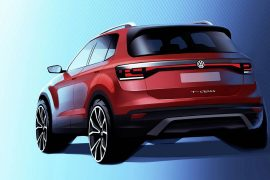 2019 Volkswagen T-Cross compact SUV previewed