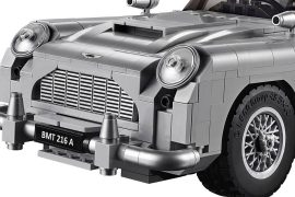 LEGO James Bond Aston Martin DB5 is fun for kids and adults alike