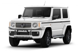 2019 Suzuki Jimny customised with Defender, G63 lookalike kits