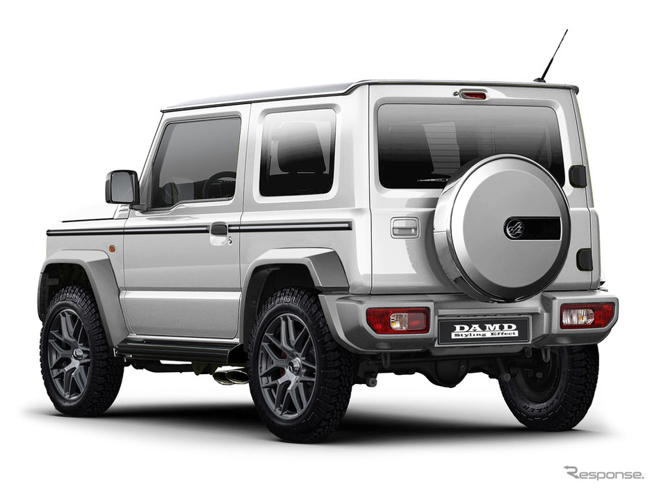 2019 Suzuki Jimny Customised With Defender G63 Lookalike