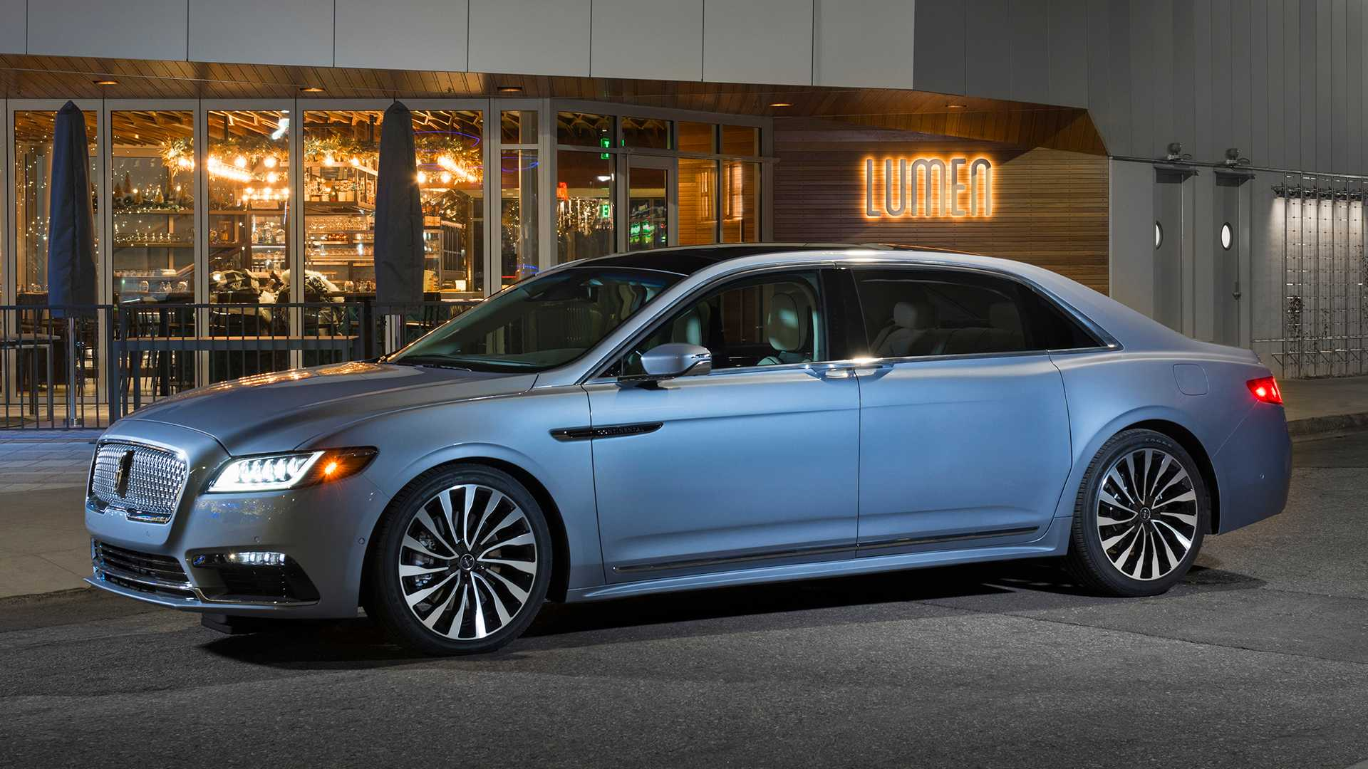 2019 Lincoln Continental Coach Door Edition Oozes Gangster Appeal