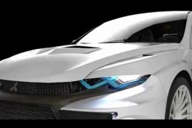 Mitsubishi Lancer Evolution XI imagined by designer