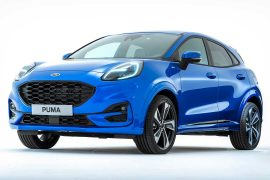 2020 Ford Puma compact crossover revealed