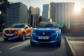 2020 Peugeot 2008 revealed, small SUV with new tech, electric e-2008