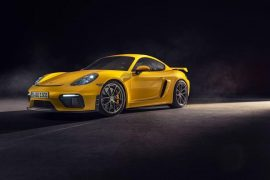 2020 Porsche 718 Cayman GT4 and 718 Boxster Spyder revealed