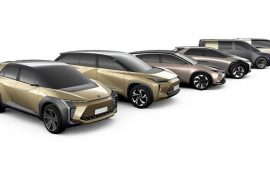 Toyota electric cars announced-  new electric platform and EV range planned