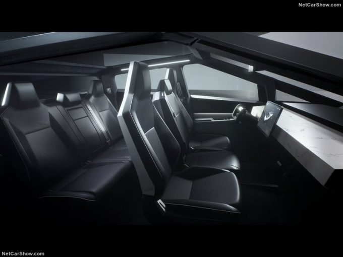 2021 Tesla Cybertruck unveiled. Polarising styling and US ...